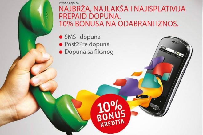 10% bonusa uz dopunu kredita
