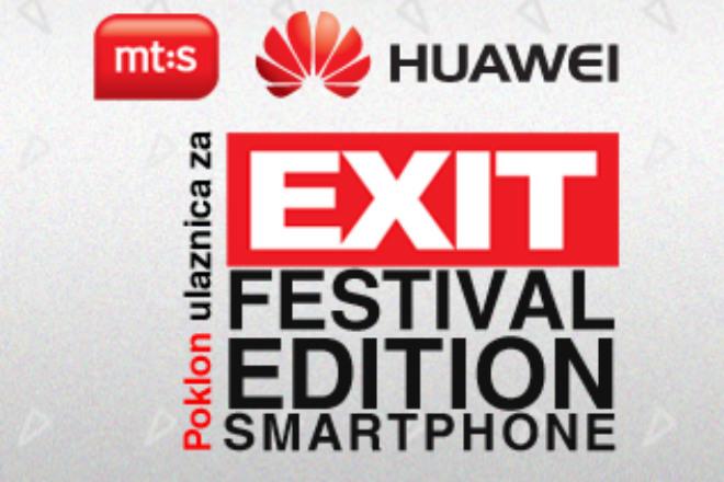 mt:s paket sa telefonom i ulaznicom za Exit festival