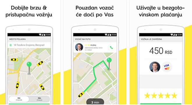 Taxify  – aplikacija koja će vam olakšati sve buduće taksi vožnje